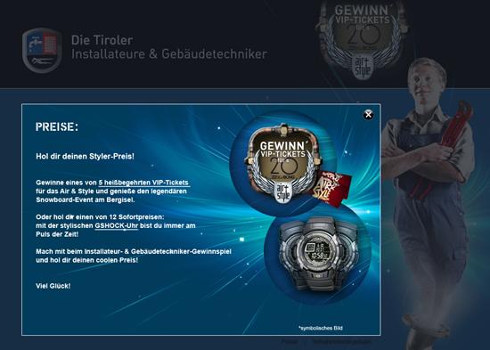 Die Tiroler Installateure – Gewinnspiel