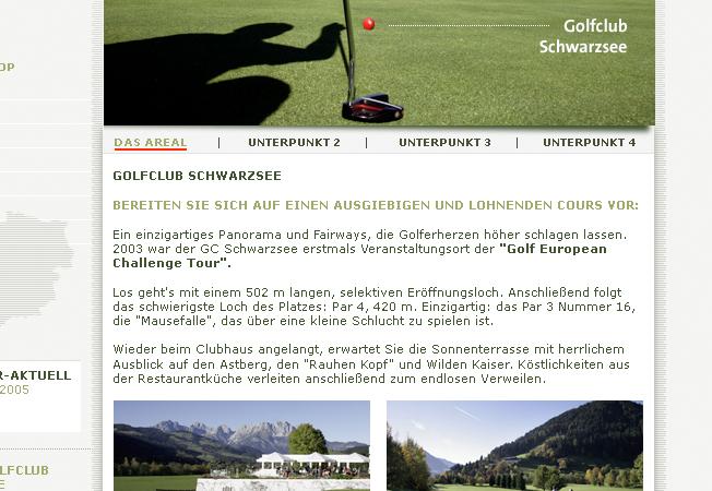 Kitzbühel – Golfzentrum der Alpen