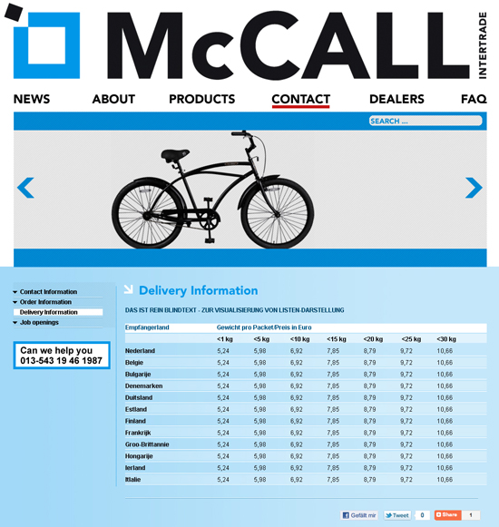 Mc Call Intertrade
