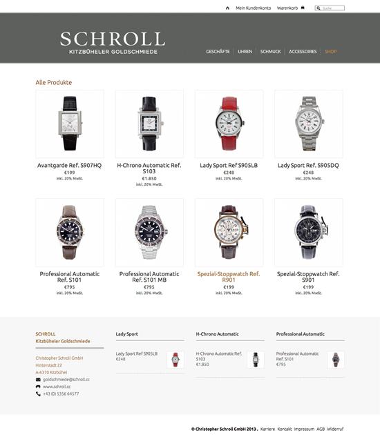Schroll – Goldschmiede