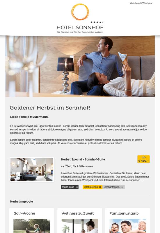 Hotel Sonnhof *****