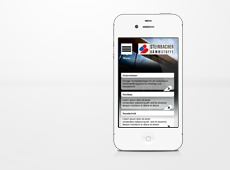 Steinbacher – mobile Version